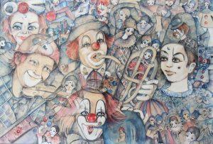 Yvonne Brill, Clowns